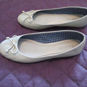 Talbots Penelope Ballet Flats - Size 8M - Taupe